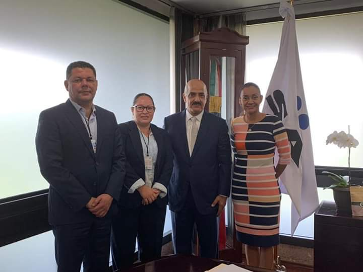 Sostiene la senadora Gabriela Benavides encuentro con el titular de aduanas