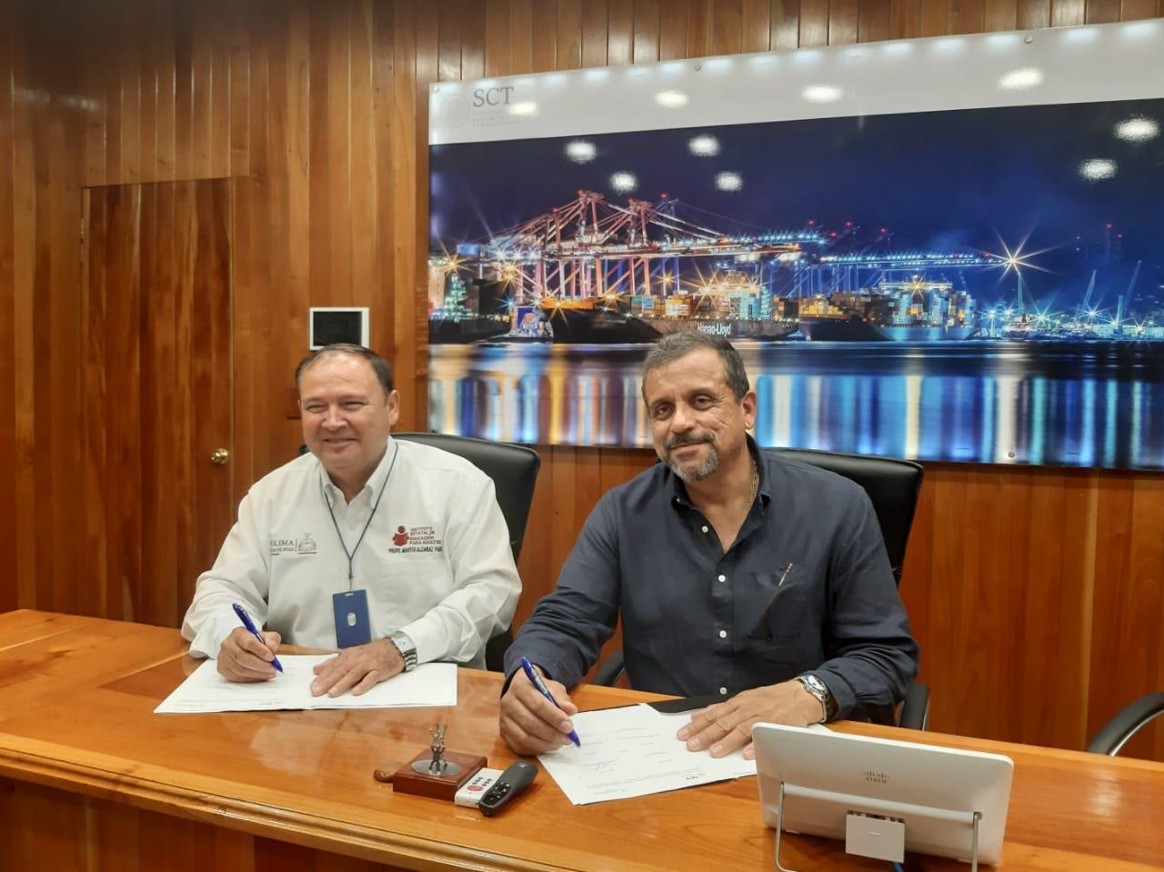 Firma API Manzanillo e IEEA convenció de colaboración