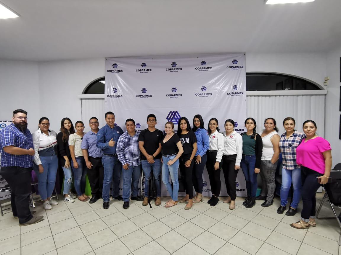 Empresas Coparmex se capacitan en Marketing y Redes Sociales