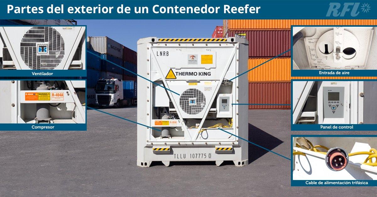 Celebran 25 años de evolución del contenedor refrigerado, pilar del transporte marítimo